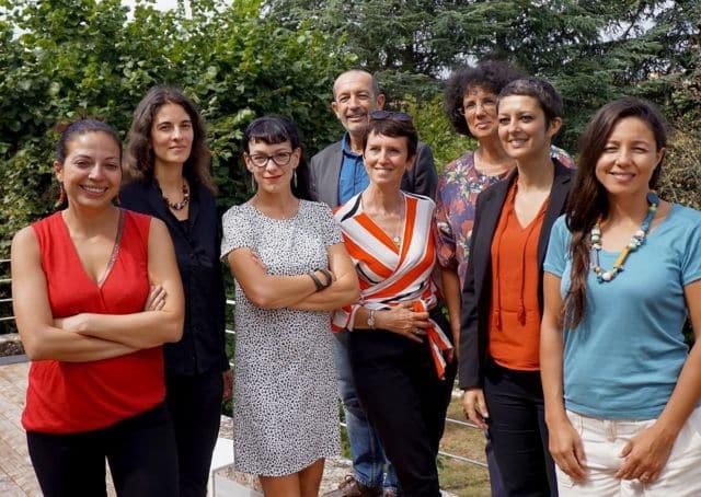 Les élu(e)s du groupe RCES de la Région Auvergne-Rhône-Alpes. © RCES