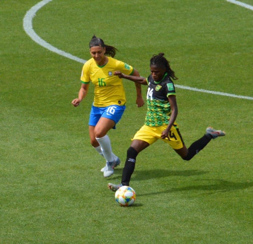 Brésil-Jamaique match Coupe du monde 9 juin 2019. © Laurent Genin