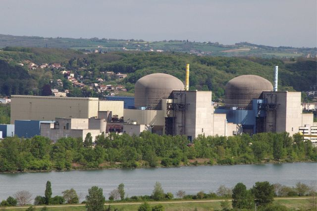 La centrale nucléaire de Saint Alban. DR