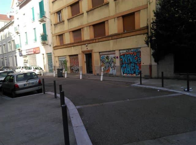 Au croisement des rues Desaix et Marceau © Florent Mathieu - Place Gre'net