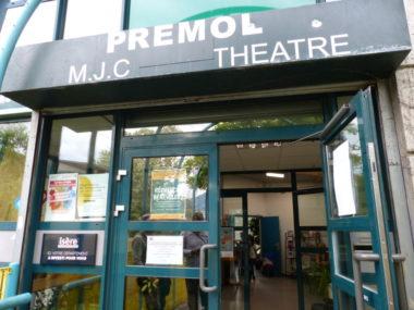 Entrée du Théâtre Prémol. © Nina Soudre - Placegrenet.fr