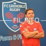Sylvain Begon redevient entraîneur des avants du FCG 12 juin 2019. © Archive Laurent Genin