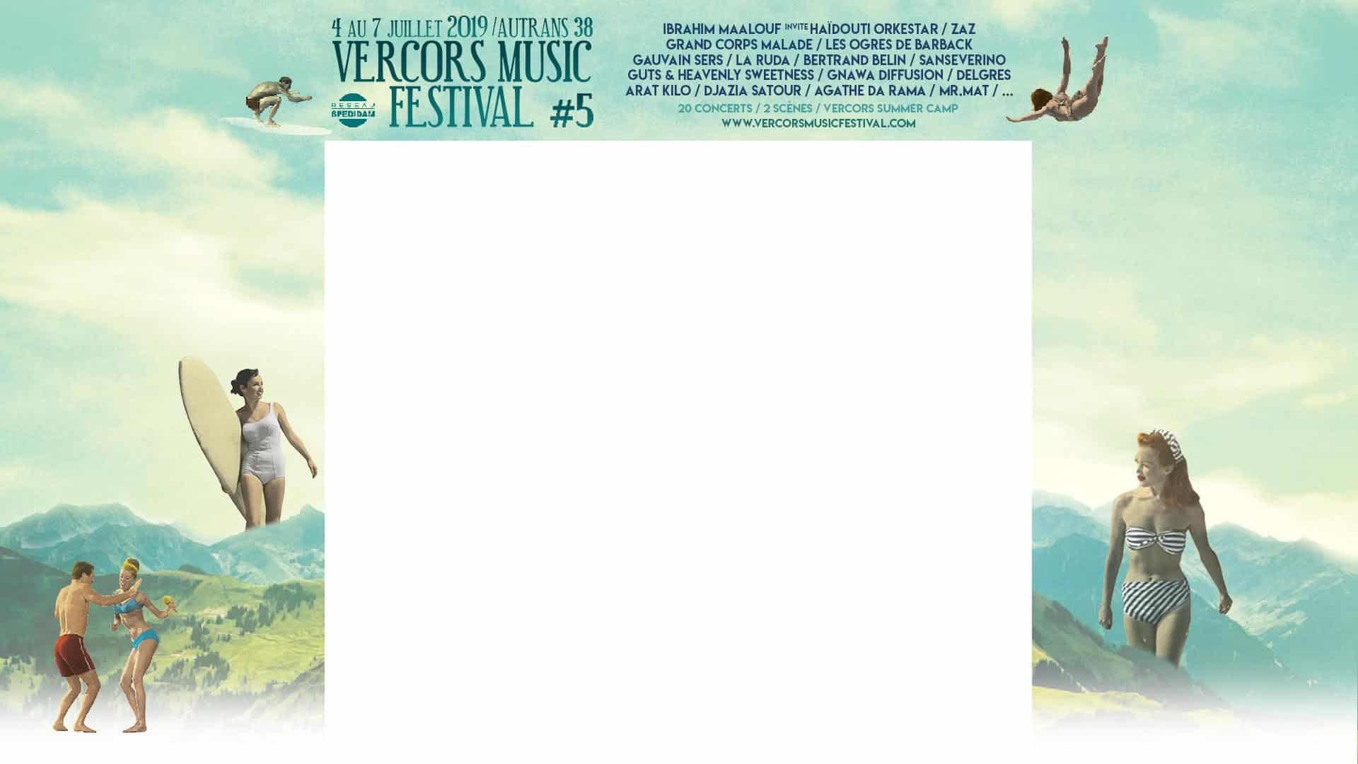 Vercors Music Festival du 4 au 7 juillet 2019 à Autrans