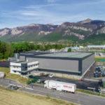 L'entrepôt de plus de 8000 m2 se veut être à la pointe de la technologie © Rezolog - placegrenet.fr