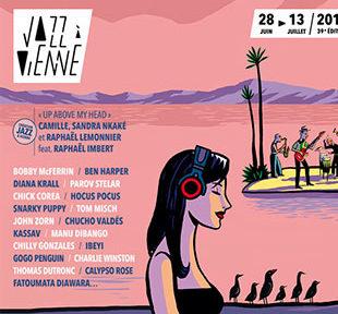 250 concerts sont au programme de la 39e édition du festival de musique Jazz à Vienne qui se déroule du 28 juin au 13 juillet 2019 à Vienne.