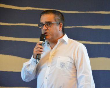 Michel Martinez, président du FCG. © Laurent Genin