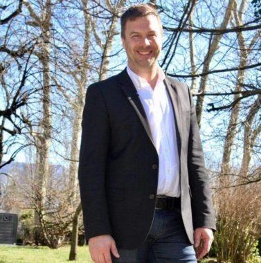 Olivier Six, référent LREM en Isère et candidat à l'investiture LREM pour les municipales à Grenoble. DR