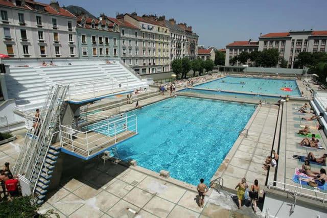 La piscine Jean-Bron de Grenoble © Ville de Grenoble