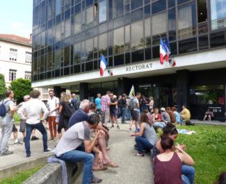18 juin, manifestation personnels de l'Education Nationale contre la loi Blanquer, c Pauline Defélix