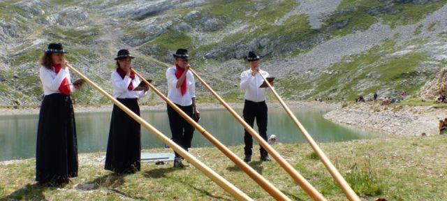 Cors des Alpes, Fête montagne