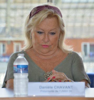 Danièle Chavant, présidente de l'Union des métiers et des industries de l'hôtellerie de l'Isère. © Laurent Genin
