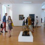 Première salle de l'exposition, Musée de Grenoble. © Nina Soudre - Placegrenet.fr