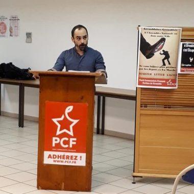 Les communistes grenoblois rejoignent la liste conduite par le maire sortant Eric Piolle (EELV) dans la course aux municipales. Nicolas Beron Perez