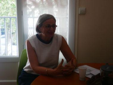 La candidate Mireille d'Ornano, ex-FN aujourd'hui membre des Patriotes, a annoncé sa candidature à l'élection municipale de Grenoble en 2020.