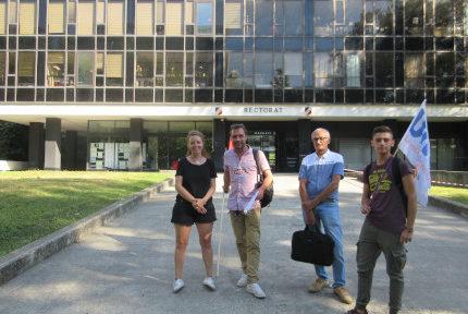 Bac 2019 : des enseignants de l'académie de Grenoble veulent porter plainte devant le tribunal administratif et poursuivre la mobilisation après l'été.