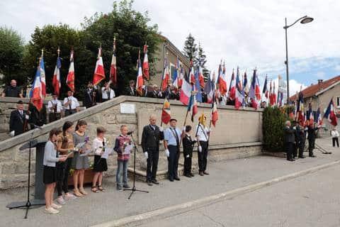 Cérémonie du 21 juillet 2018 à Vassieux-en-Vercors © vassieuxenvercors.fr