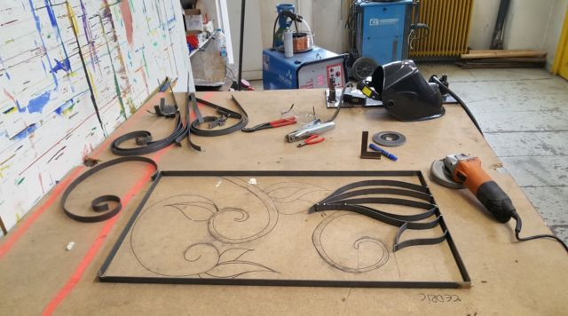 Dans l'atelier métallurgie de l'ADFE © ADFE