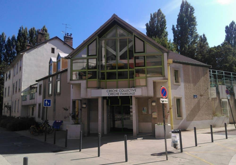 La crèche de Grenoble La Chrysalide © Florent Mathieu - Place Gre'net