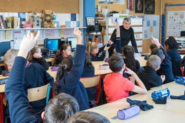 L'École des pupilles de l'air Grenoble-Montbonnot reçoit la visite de la ministre des Armées Florence Parly pour la rentrée des classes du 2 septembre.Salle de classe de l'EPA © École des pupilles de l'air - Facebook