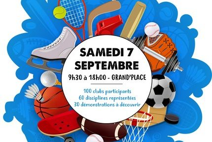 Inscriptions et démonstrations : la 16e édition du Forum des Sports de Grenoble se déroule à Grand' Place le samedi 7 septembre de 9 h 30 à 18 heures.