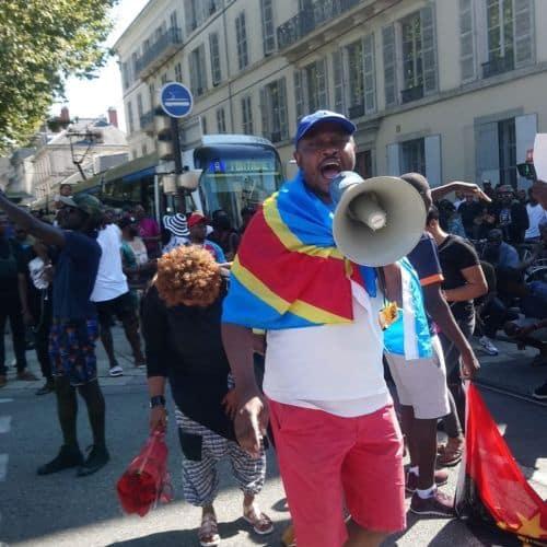 Peter Kashama, président de la Communauté congolaise de Grenoble © Peter Kashama - Facebook