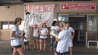 Mobilisation des urgentistes du 2 juillet. © Joël Kermabon - Place Gre'net