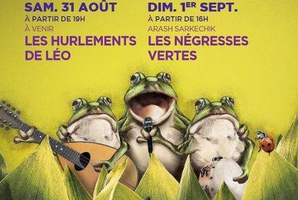 Le parc d'Uriage accueille samedi 31 août et dimanche 1er septembre le festival Uriage en voix, avec Les Hurlements de d'Léo et Les Négresses vertes.