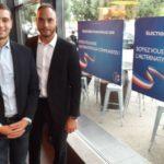 Jordan Bardella venu soutenir Alexis Jolly pour sa candidature à Echirolles