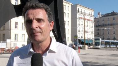 Éric Piolle candidat à sa propre réélection. © Joël Kermabon - Place Gre'net