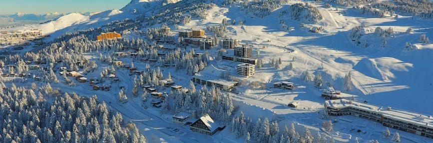 La station de ski de Chamrousse © Isère Tourisme