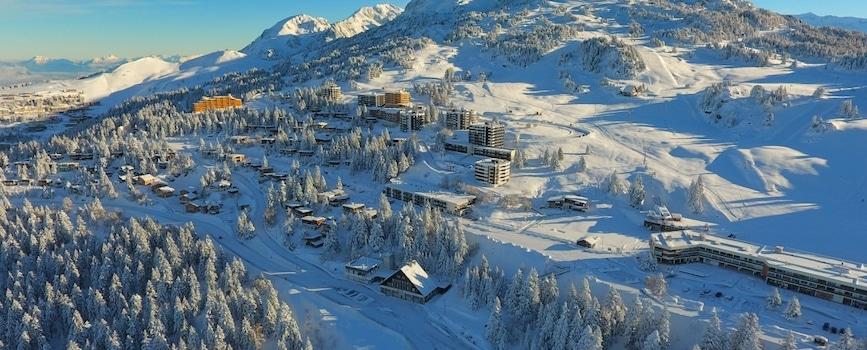 La station de ski de Chamrousse enregistrerait des chiffres de fréquentation en hausse de 25 % pour le Nouvel an 2020 © Isère Tourisme