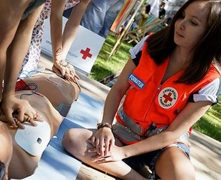 Lancement des Journées nationales de la Croix-Rouge samedi 12 septembre