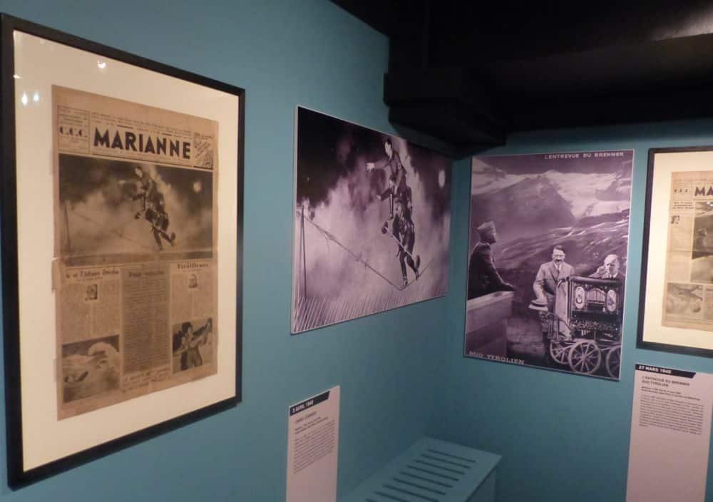 Le Musée propose les exemplaires originaux de Marianne, plus des agrandissements et des notices de contextualisation. © Florent Mathieu - Place Gre'net