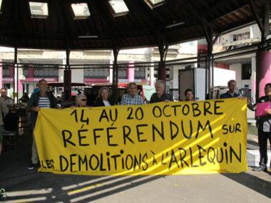 Le premier RIC organisé à Grenoble en octobre 2019 portera sur les démolitions de logements sociaux sur le quartier Arlequin © Séverine Cattiaux - Place Gre'net