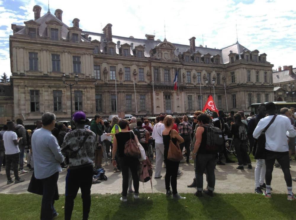 Manifestation jeunes majeurs étrangers Grenoble 11 septembre 2019 © Florent Mathieu - Place Gre'net