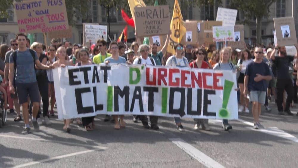 Marche pour le climat à Grenoble en septembre 2019. © Joël Kermabon - Place Gre'net