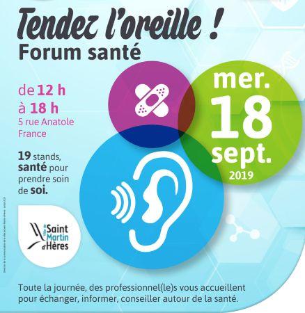 Forum Santé de Saint-Martin-d
