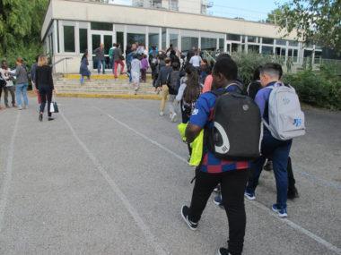 Rentrée 2019 au collège Charles Münch de Grenoble © Séverine Cattiaux - Place Gre'net