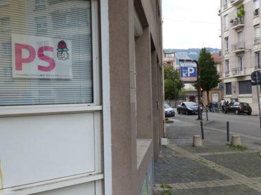 Siège du Parti socialiste (PS) quartier Saint-Bruno à Grenoble. © Muriel Beaudoing - Placegrenet.fr