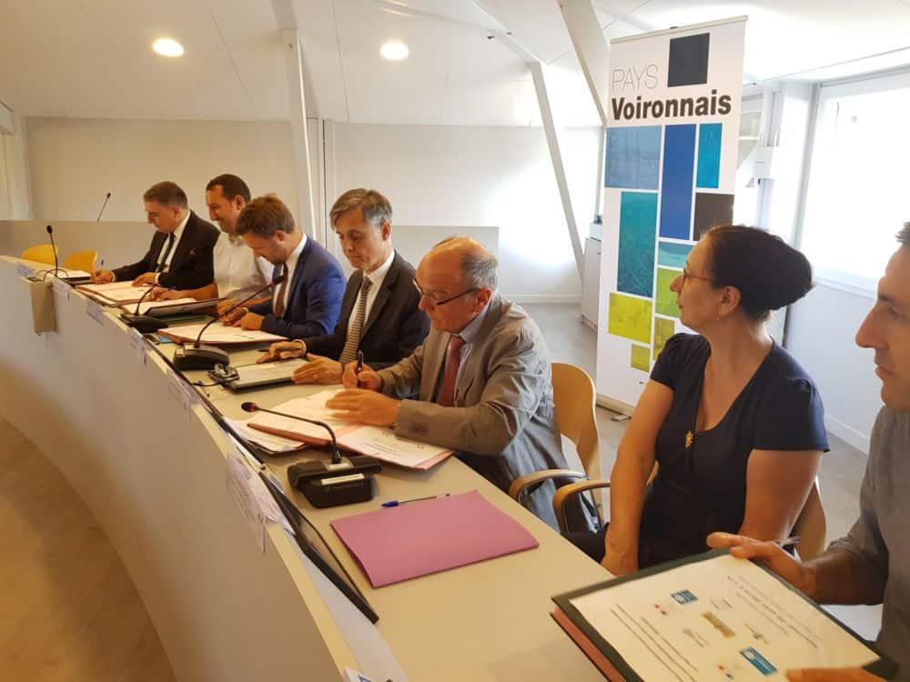 Le Pays voironnais signe un Plan local d'éducation artistique et culturel. © Pays Voironnais