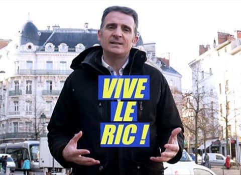 UNE Le maire de Grenoble Eric Piolle faisant la promotion du Référendum d'initiative citoyenne (Ric) sur les réseaux sociaux en décembre 2018