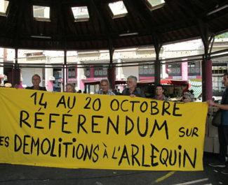 UNE Le premier RIC organisé à Grenoble en octobre 2019 portera sur les démolitions de logements sociaux sur le quartier Arlequin © Séverine Cattiaux - Place Gre'net