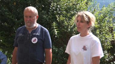 Jean-Charle Poncet, président du Tichodrome et Mireille Lattier, sa directrice. © Joël Kermabon - Place Gre'net