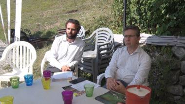 Jérôme Dutroncy et Christophe Ferrari. © Joël Kermabon - Place Gre'net