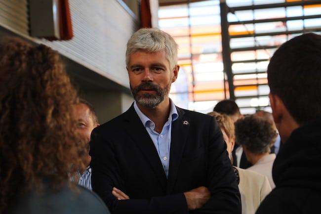Le président de Région Laurent Wauquiez © Patricia Cerinsek - Place Gre'net