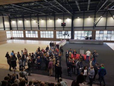 Inauguration du nouveau centre sportif Jean-Philippe Motte, samedi 12 octobre 2019 © Séverine Cattiaux - Place Gre'net