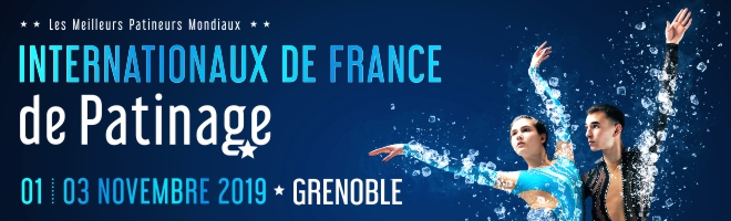 Internationaux de France de patinage du 1er au 3 novembre 2019 à Grenoble