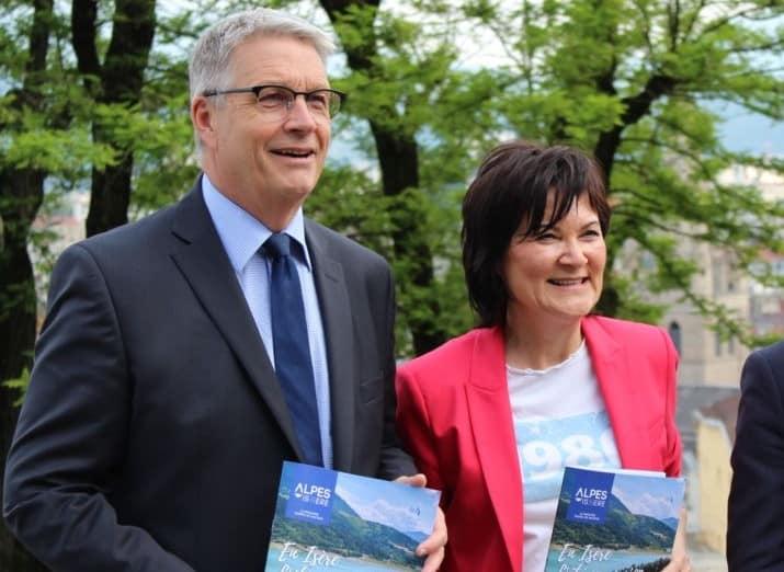 Agence Isère attractivité - Jean-Pierre Barbier et Chantal Carlioz © © Jules Peyron - Place Gre'net