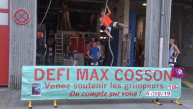 La 4e édition du défi Max Cosson organisé par les sapeurs-pompiers de Grenoble pour lutter contre la maladie de Charcot va se dérouler ce samedi 5 octobre© Joël Kermabon - Place Gre'net