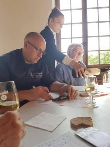 Moment de dégustation © Concours départemental des vins de l'Isère